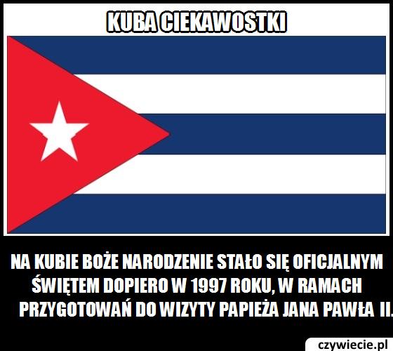 Kuba ciekawostka 1
