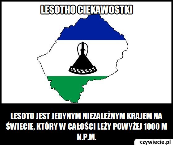 Lesotho ciekawostka 1