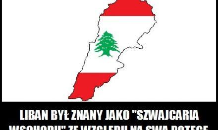 """Dlaczego Liban nazywany był """"Szwajcarią Wschodu""""?"""