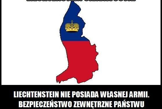 Jaką armię posiada Liechtenstein?
