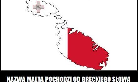 Co oznacza nazwa Malta?