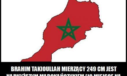 Ile wzrostu ma najwyższy Marokańczyk?