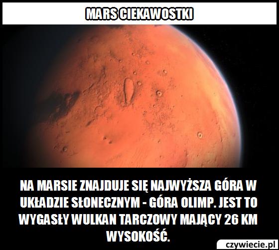 Mars ciekawostka 10