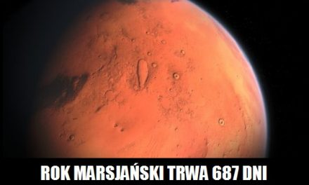 Ile trwa rok na Marsie?