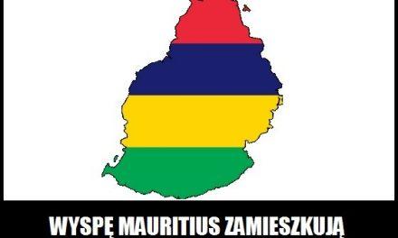 Kto zamieszkuje wyspę Mauritius?
