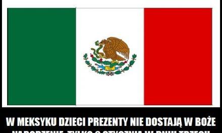 Kiedy dzieci w Meksyku otrzymują prezenty świąteczne?