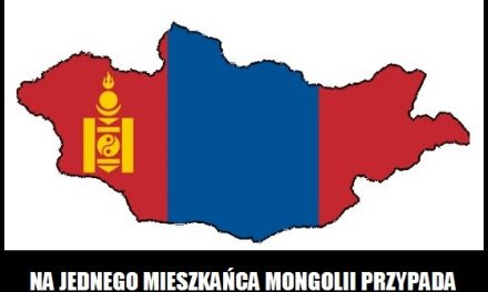 Ile owiec przypada na jednego mieszkańca Mongolii?