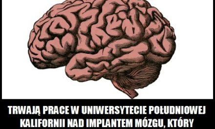Czy istnieje implant mózgu poprawiający pamięć?