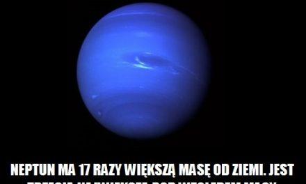 Ile razy Neptun ma większą masę od Ziemi?