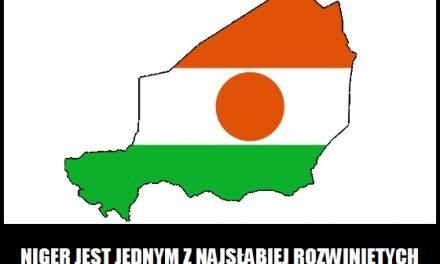 Niger jest jednym z najsłabiej rozwiniętych krajów świata