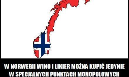 Gdzie w Norwegii można kupić likier i wino?
