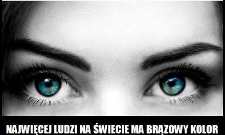 Jaki kolor oczu ma najwięcej osób na świecie?