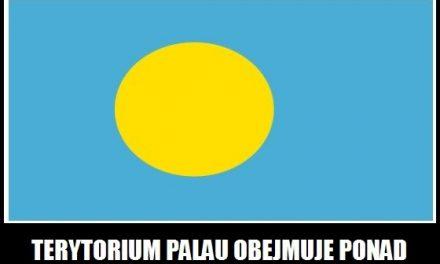 Ile wysp znajduje się na terytorium Palau?