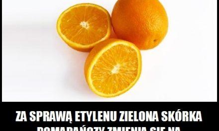 Jak zmienić zieloną skórkę pomarańczy na pomarańczową?