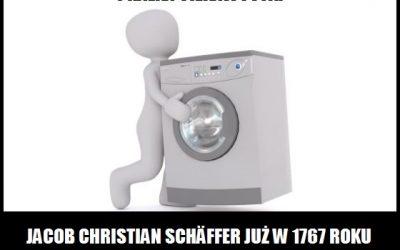 Kto i kiedy przedstawił projekt konstrukcji pralki?