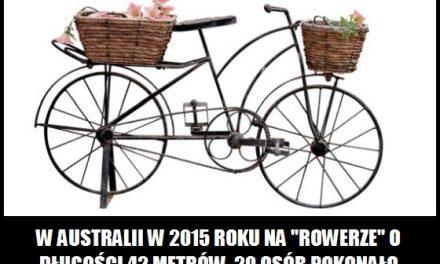 Ile metrów długości miał najdłuższy rower na świecie?