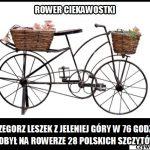 Ile czasu zajęło zdobycie na rowerze 28 polskich szczytów?