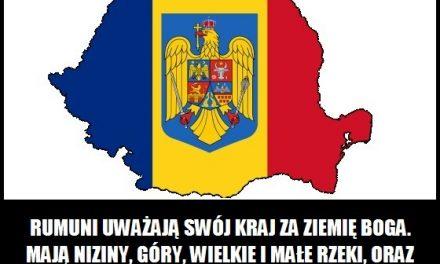 Rumuni uważają swój kraj za ziemię Boga