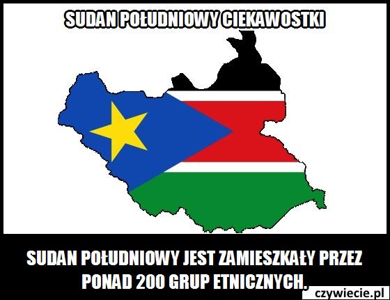Sudan Południowy ciekawostka 1