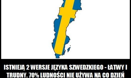Jakiej wersji języka szwedzkiego używa większość mieszkańców Szwecji?