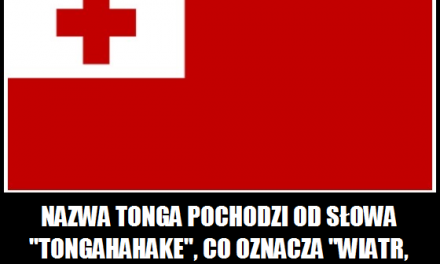 Co oznacza nazwa kraju Tonga?