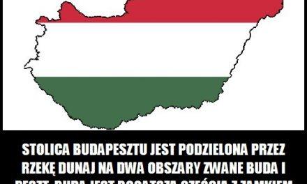 Jak podzielona jest stolica Budapesztu?
