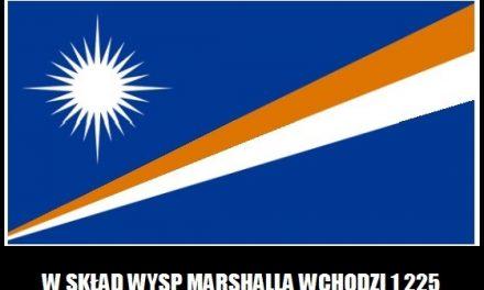 Ile wysepek wchodzi w skład Wysp Marshalla?