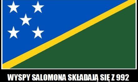 Z ilu wysp składają się Wyspy Salomona?