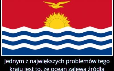 Z jakim   największym problemem boryka się kraj Kiribati?