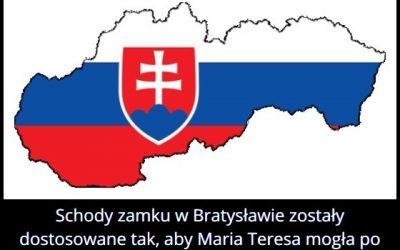 Schody zamku w Bratysławie zostały dostosowane tak, aby…