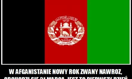 Jak nazywa się   Nowy Rok w Afganistanie?