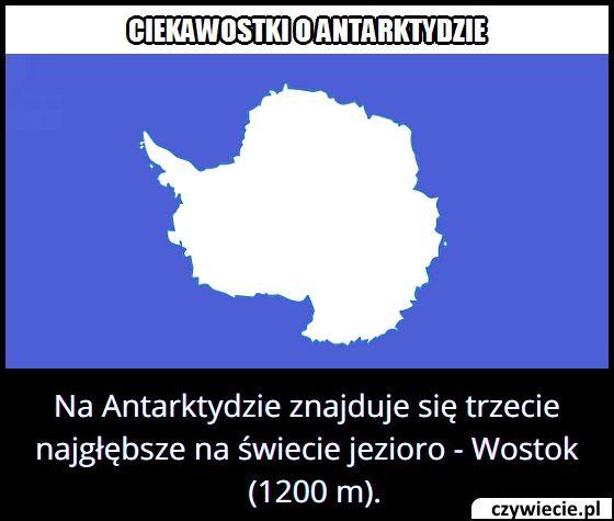 Jaką głębokość   ma trzecie najgłębsze jezioro na świecie – Wostok?