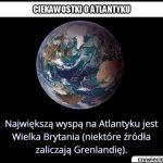 Jaka jest   największa wyspa na Atlantyku (nie licząc Grenlandii)?