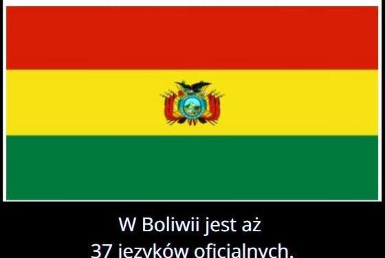 Ile   oficjalnych języków jest w Boliwii?