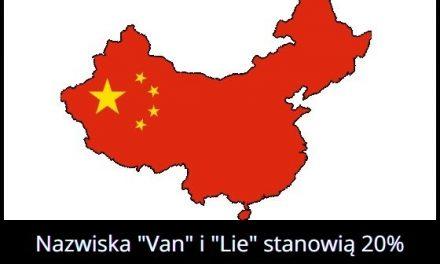 Jakie nazwiska są najbardziej popularne w Chinach?