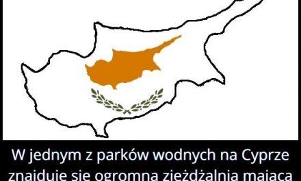 Ile zakrętów   ma największa zjeżdżalnia w parku wodnym na Cyprze?