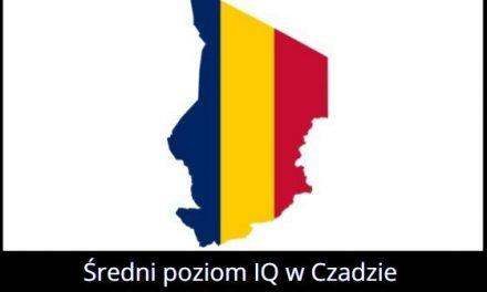 Jaki jest średni poziom IQ w Czadzie?