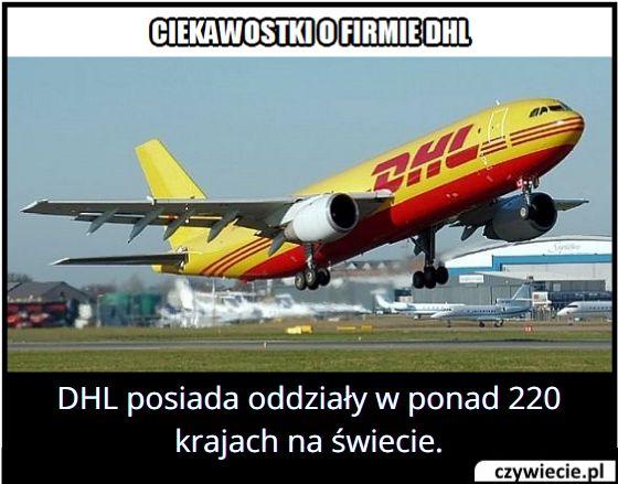 W ilu krajach na świecie DHL posiada swoje oddziały?