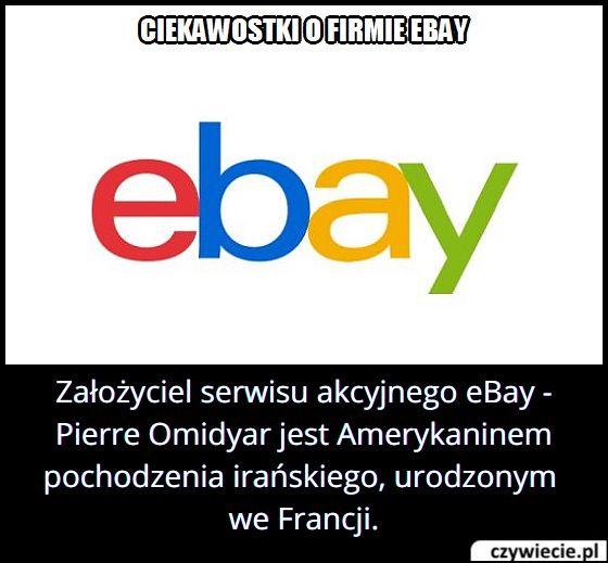 Skąd   pochodzi założyciel serwisu aukcyjnego eBay?
