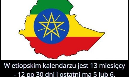 Ile miesięcy   jest w etiopskim kalendarzu?