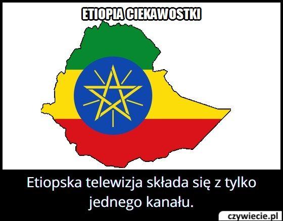 Ile kanałów ma etiopska telewizja?