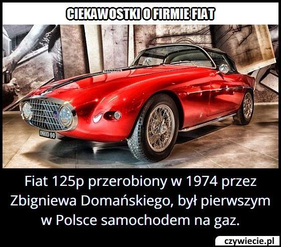 Jakiej marki był pierwszy w Polsce samochód na gaz?
