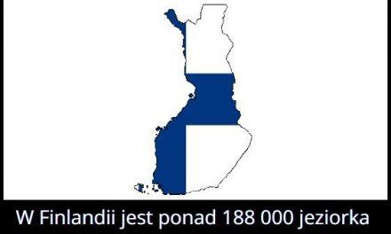 Ile jezior   jest w Finlandii?