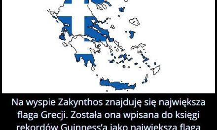 Jakie wymiary   ma największa flaga Grecji?