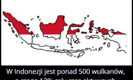 Ile wulkanów jest w Indonezji?