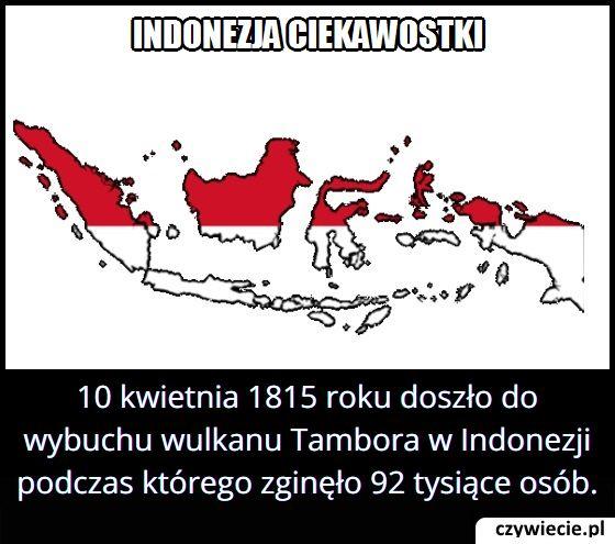 Ile osób zginęło po wybuchu wulkanu Tambora w 1815 roku?
