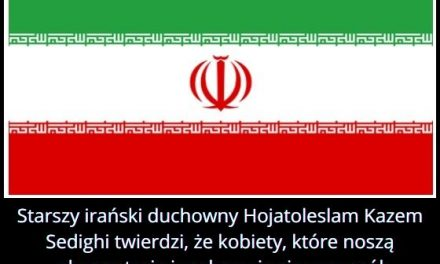 Starszy irański duchowny Hojatoleslam Kazem Sedighi twierdził, że kobiety, które noszą skąpe stroje są winne…