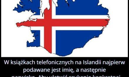 Jak wygląda   książka telefoniczna na Islandii?