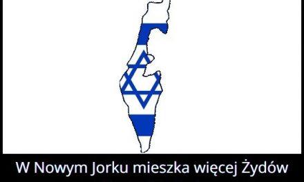 W którym mieście żyje więcej Żydów niż w Tel Awiwie?