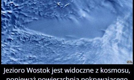 Jezioro Wostok widać z kosmosu?